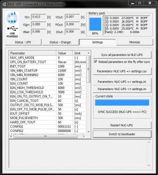 NUC-UPS - Mini-Box com Wiki Page